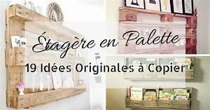 Meuble A Faire Soi Meme Recup : tag re en palette 19 id es originales copier ~ Zukunftsfamilie.com Idées de Décoration