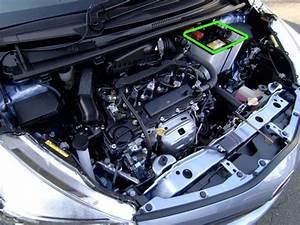 Toyota Yaris Car Battery Location