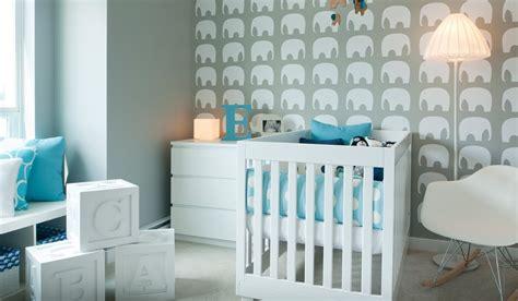 Kinderzimmer Tapezieren Ideen by Teal Nursery Design Interior Design Ideas