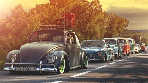 Volkswagen, Oldtimer Wallpapers Hd / Desktop And Mobile