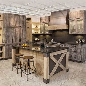 idee relooking cuisine cuisine rustique chic en melamine With idee deco cuisine avec magasin meuble rustique