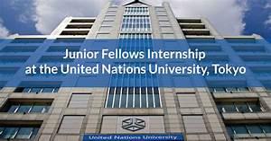 Junior Fellows Internship At The United Nations University