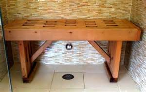 Cleaning Mold From Shower by Wood Shower Benches Top Tips To Care For Them Household
