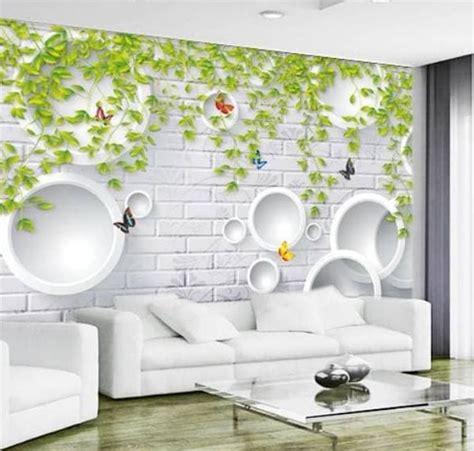 harga wallpaper dinding  meter  kamar  ruang tamu
