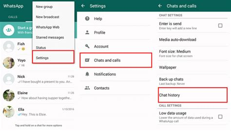 chat android chats whatsapp