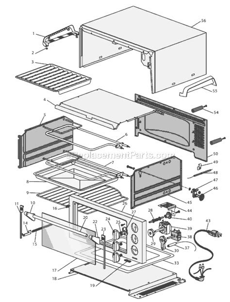 toaster oven parts delonghi toaster oven w rotisserie eo1260