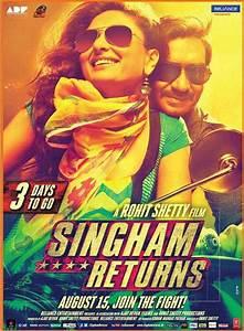 Singham Returns Kareena Kapoor Ajay Devgn Poster - 10819 ...