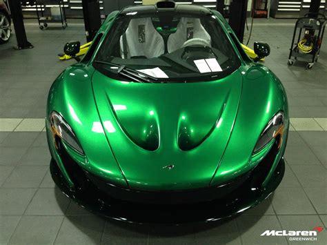 Green Mso Mclaren P1 With Matching Green Wheels