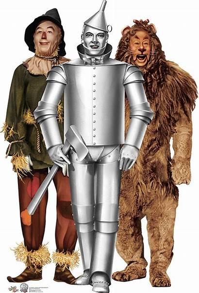 Wizard Oz Tin Scarecrow Lion Cowardly Anniversary