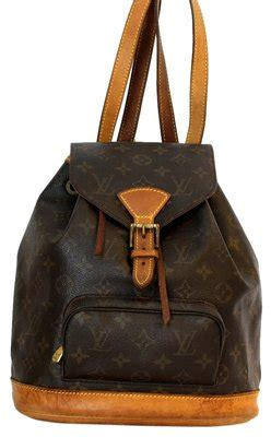 louis vuitton backpack mm brown   louis vuitton backpacks tradesy