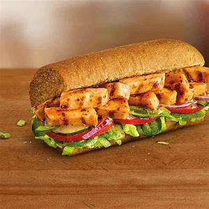Take a bite of delicious with the SUBWAY® Fresh Fit sweet ...