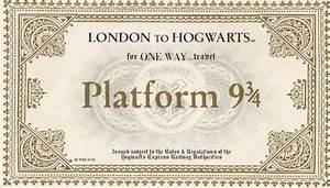 Image  Platform 934 Ticket jpg Harry Potter Wiki FANDOM powered by Wikia