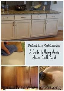 A step by step guide to painting cabinets with annie sloan for Steps to painting a bathroom