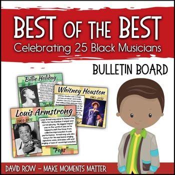 black history preschool songs celebrating 25 black musicians bulletin board 142
