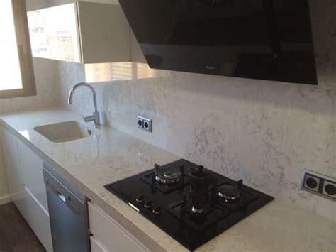 foto encimera de cocina en silestone pulsar marmoles