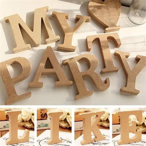 (sorry for the worst tags: Aliexpress.com : Buy DIY Home Decor Wooden Letter 26 Wood English alphabet Wedding Decoration ...