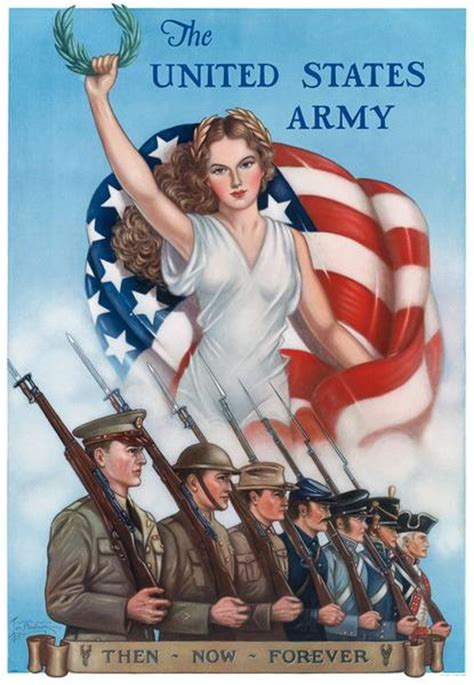 the united states army then now forever vintagraph