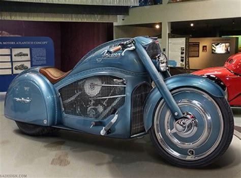 Harley Bugatti concept motorcycle - Motorbike Writer