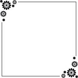 certificate frame simple border designs for a4 paper clipart best