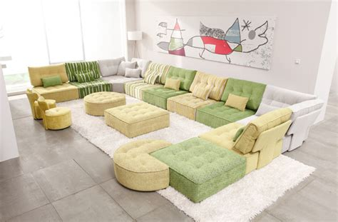 Arianne Love Modular Fabric Sectional Sofa By Famaliving