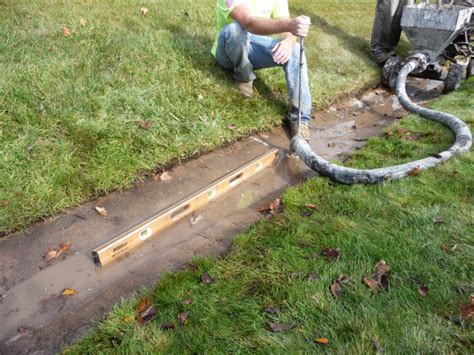 drainage ditch solutions drainage ditch mudjacking waukesha 2 mudtech wisconsin concrete repair mud jacking