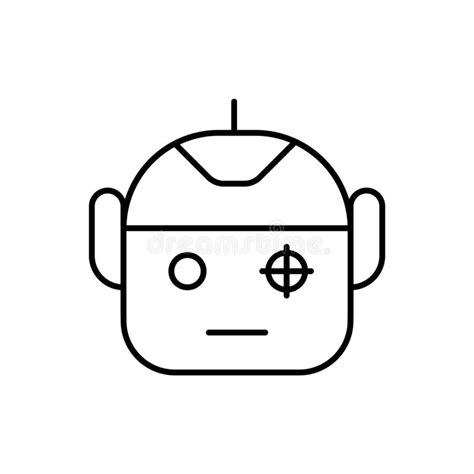 Security Camera Robot Stock Illustration
