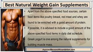 Best Natural Weight Gain Supplements For Building Muscle