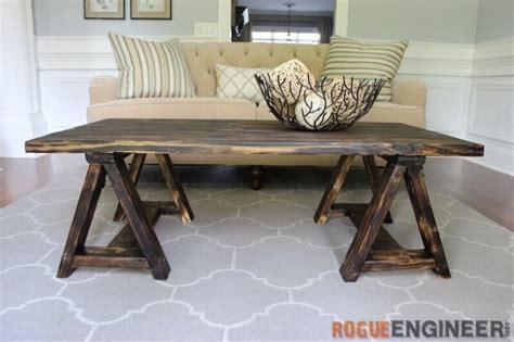 diy rustic coffee table ideas