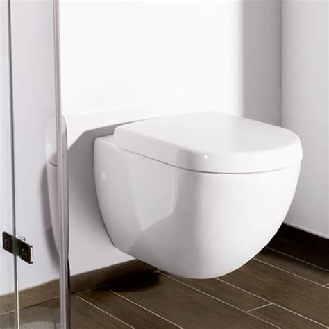 toilette villeroy et boch villeroy boch subway wall mounted washdown toilet l 56 w 37 cm white 66001001 reuter