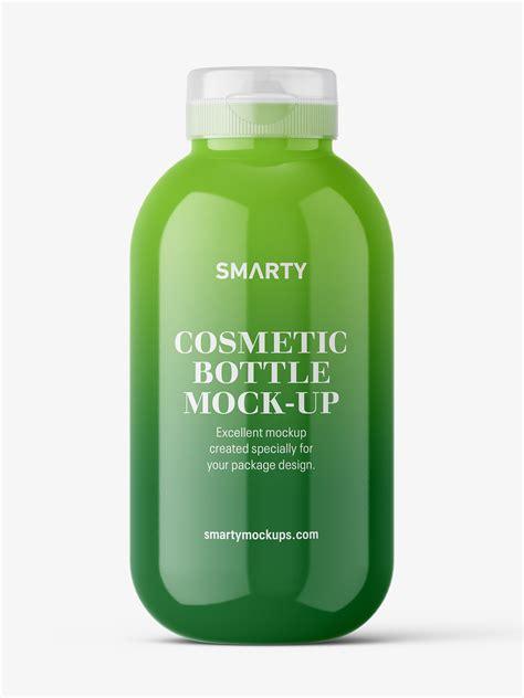 Pills bottle mockup free download. Cosmetic glossy bottle mockup - Smarty Mockups