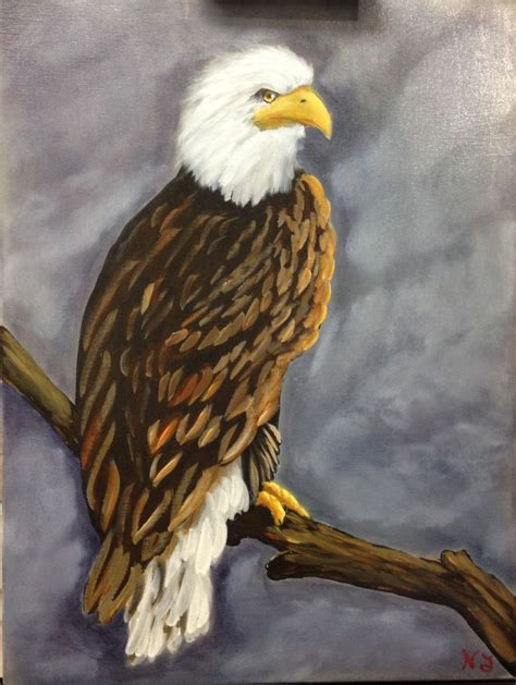 majestic eagle oil  acrylic  canvas  paintings