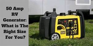 50 Amp Rv Generator  What Is The Right Size For You