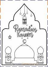 Ramadan Coloring Kareem Sheet Printable Fastseoguru Mubarak Eid sketch template