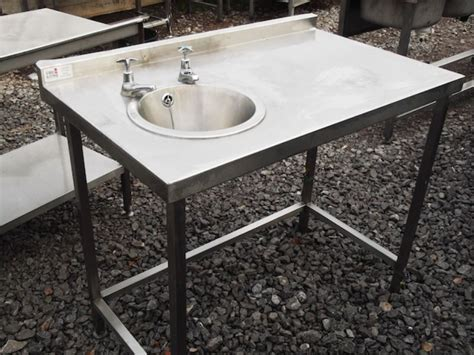 used stainless steel table with sink for sale used stainless sink befon for