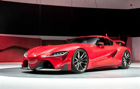 toyota supra ft concept cars booster