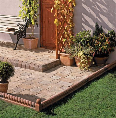 patio edging ideas the garden