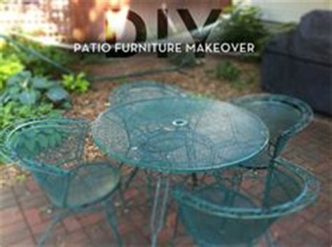 metal patio furniture makeover 1000 ideas about metal patio furniture on