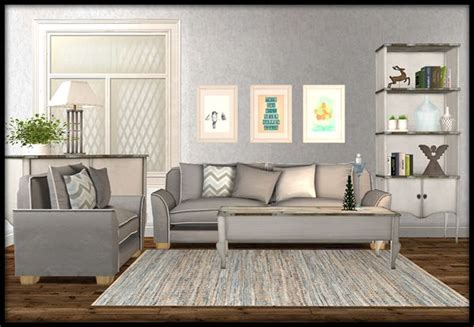 54 Sims 2 Living Room Set, Mod The Sims Ramsay Living Room
