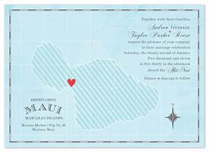 Wedding invitations destination maui at mintedcom for Maui destination wedding invitations