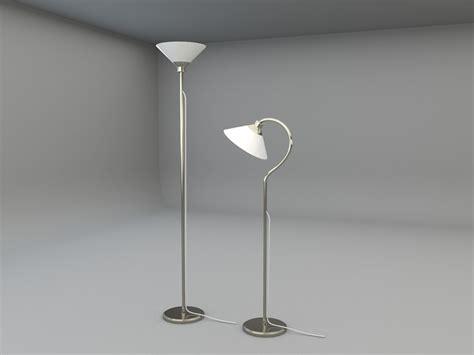 Ikea Kroby Floor Uplight 3d Model