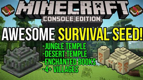 Minecraft Xbox & Ps3 Awesome Survival Seed! Desert