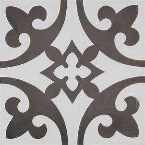 carreau ciment gris roi carrelage ciment motifs decors With carreau ciment gris