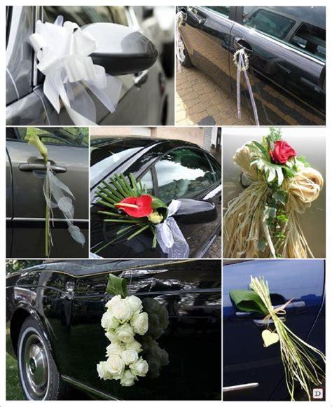 decoration voiture cortege mariage idées decoration voiture mariage