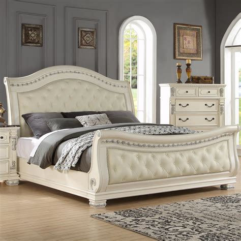Wayfair Sleigh Bed by Fairfax Home Collections Alexandra Upholstered Sleigh Bed