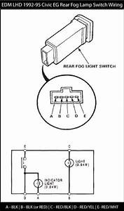 Diy  Honda Civic 92-95  U0026quot Oem U0026quot  Rear Fog Lamp Retrofit Install Guide - Honda-tech