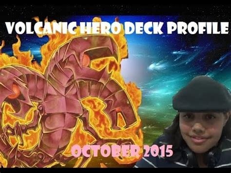 Yugioh Volcanic Deck April 2015 by Yu Gi Oh Volcanic Deck Profile October 2015