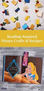 reading inspired disney crafts and recipes disney family