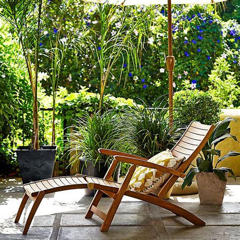Teak Steamer Chair Lewis by David Dangerous Quality Garden Lounger Chair