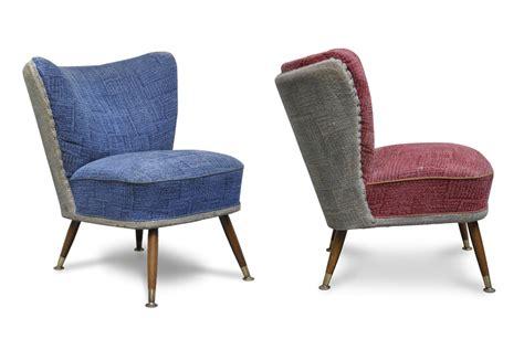Sedie Club Chair Vintage Anni 50