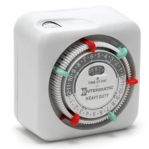 intermatic heavy duty mechanical timer volt lighting